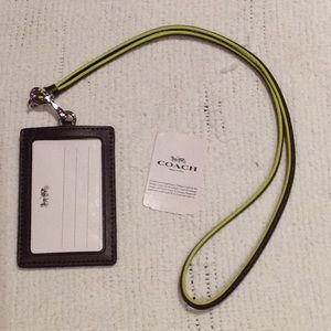 Credit card/id holder with lanyard